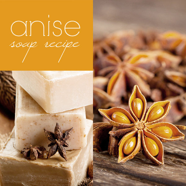 Anise Soap Recipe: how to make anise soap (cold process)