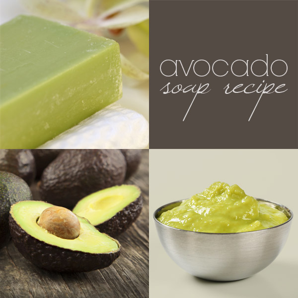 Avocado Soap Recipe (Cold Process)