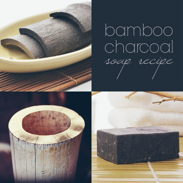 Bamboo Charcoal Soap Recipe (Cold Process)