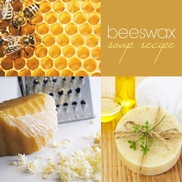 Beeswax soap recipe: how to make cold process beeswax soap