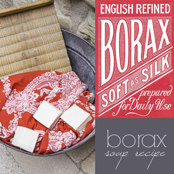 Borax soap recipe: how to make cold process borax soap