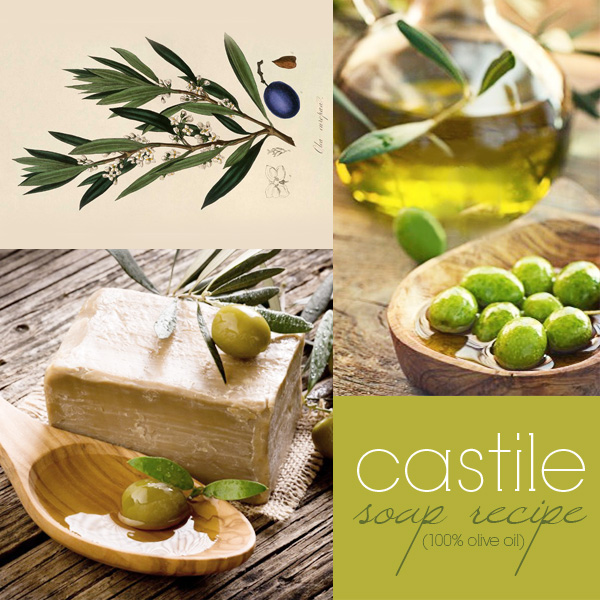 Castile soap recipe: how to make 100% olive oil soap (cold process)