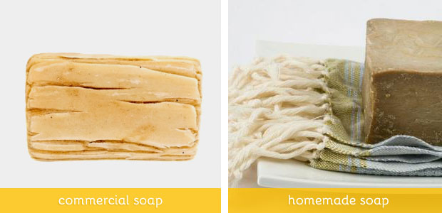"Commercial ""soaps"" vs homemade soaps"