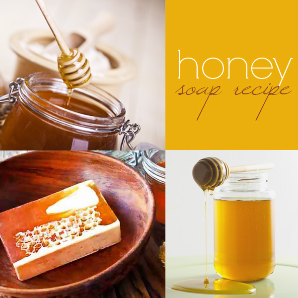 Honey soap recipe: how to make cold process soap with honey