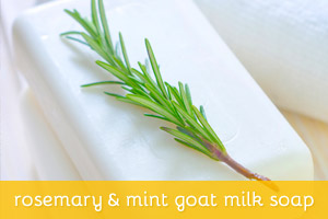 Rosemary & Mint Goat Milk Soap